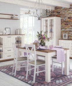 Dining Room Furniture: display and storage Dining Set